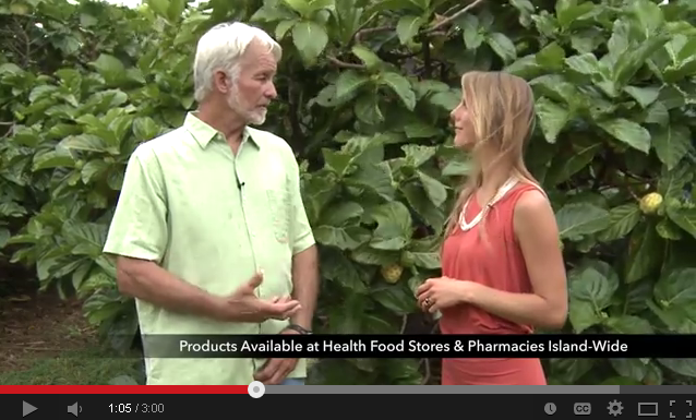 Interview with Steve Frailey About Noni Fruit