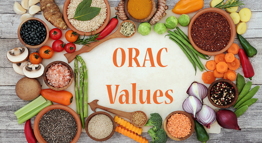 Noni and Orac Values