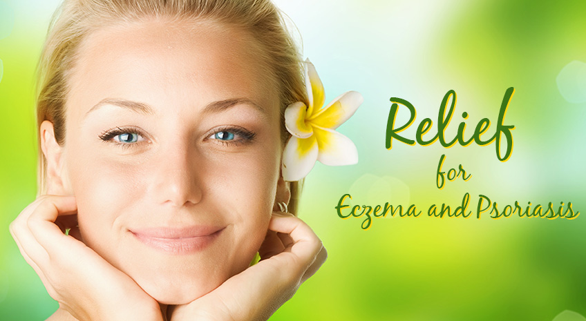 Natural, Organic Relief from Eczema and Psoriasis
