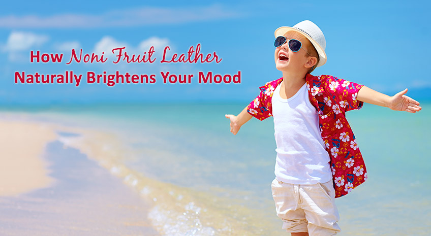 How Noni Fruit Leather Naturally Brightens Your Mood