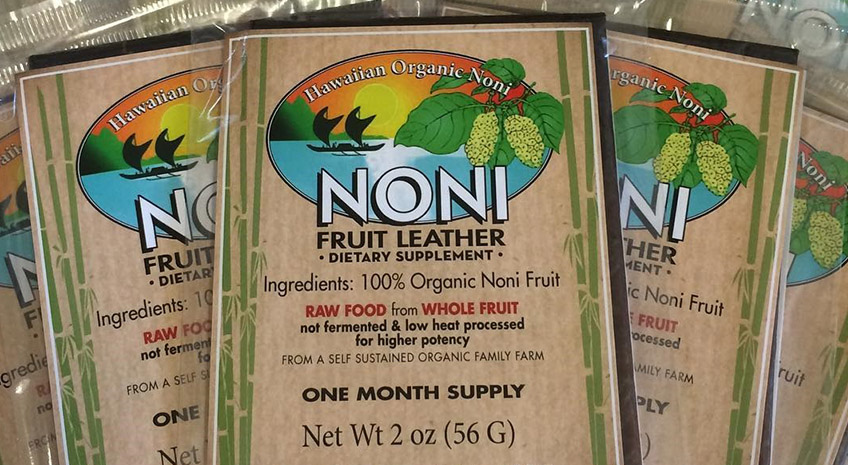Know Your Raw Food: The Antioxidant Value of Noni Fruit Leather