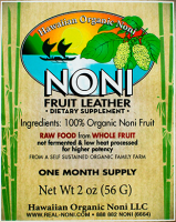 Noni Fruit Leather 2 oz