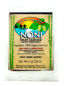 Noni Fruit Leather 1 oz