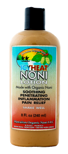 Icy Heat Noni Lotion 8 oz