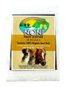 Pets Noni Fruit Leather 2 oz